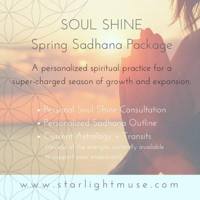 Spring Sadhana Package